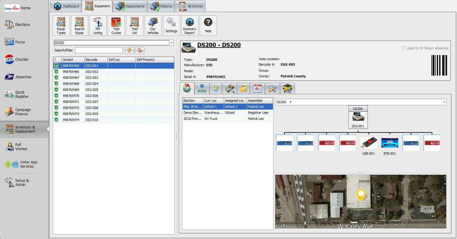 EasyInventory: Equipment Management Screen